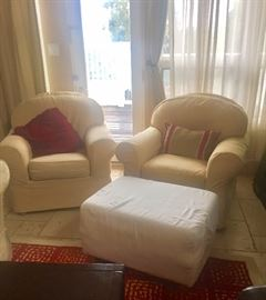 Oversize Living Room chairs