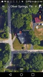 Picture from Google Earth. (The property lines is everything you see visible all the way to the main road except for in the left back corner. The property extends to about the center of the trees (While looking at this current picture if u look to the left back corner stopping after/ around the first large tree.)