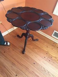 MAHOGANY SUPPER TABLE