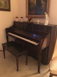 Beautiful vintage Sohmer upright piano
