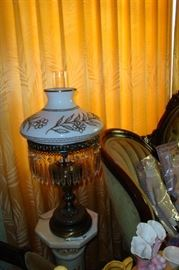 old prism lamp