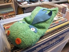 1950 Cecil Puppet w/pull string - still talks! (Beanie & Cecil)