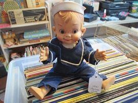 1950's Mickey Sailor Doll