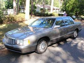 1999 Cadillac DeVille  161,453 actual miles