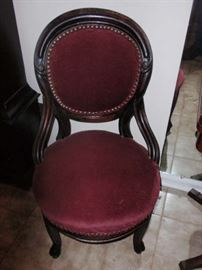 1870's Cameo Back Side Chair  (pair)