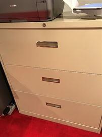 Steelcase File Cabinet
