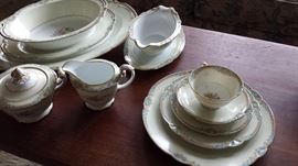 Noritake - service for 12 and serving pieces