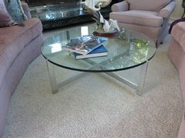 Cocktail table. Milo Baughman/Thayer Coggin