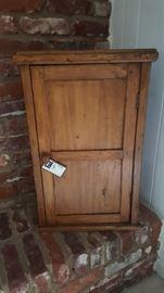Primitive Pine cupboard cabinet