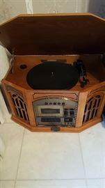 Phonograph interior