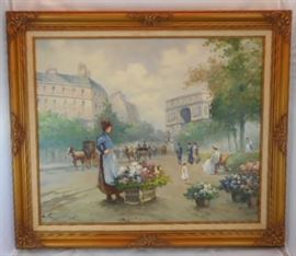 Large Painting/Frame