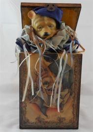 "Jack-In-The-Box ""Jingle Bear"" Music Box"