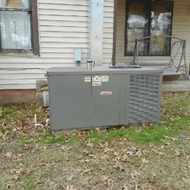 Heat Pump is electric, 3 1/2 ton, bought 6 yrs ago. Installed by Conway heat and air.