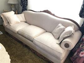 Vintage Victorian style sofa