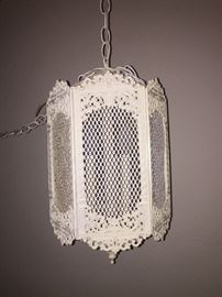 We have two of these gorgeous white lanterns.