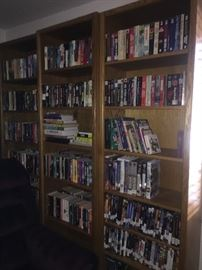 "Many bookshelves, we have 5 of these.  They measures 28"" x 6' x 1'"