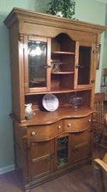 Another picture of the china cabinet!