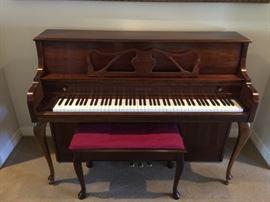 Kimball Piano with piano stool