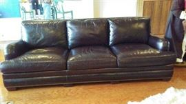 """Lovely 96"""" Leather Sofa retail was 6,299. but you will pay far less then that."""