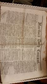 Great 1846 newspaper.