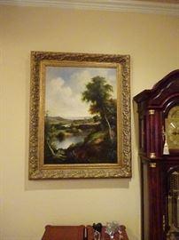 P Daul Painting