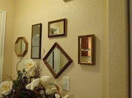 mirror walls plaque
