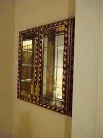 open wall cabinet for knick knacks