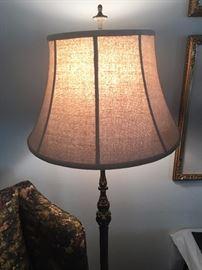 Detail of floor lamp