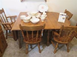 Dining room set with buffet and china cabinet