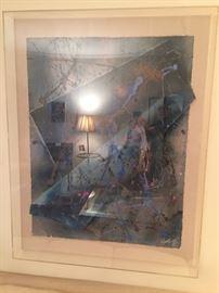 """art Lucite frame """"Holden"""" 1965"""