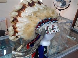 Native American Ceremonial Head Dress