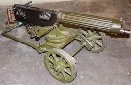 Lot 1 - Firearm Non-Firing Maxim Machinegun
