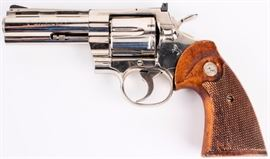 Lot 107 - Gun Colt Python in 357 Mag Double Action Revolver