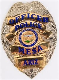 Lot 84 - Badge Mesa, Arizona Police Officer Badge