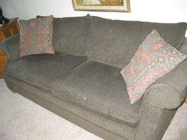 gray sofa by Flexsteel