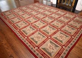 Large Contemporary Floral Area Rug