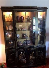 Beautiful Oriental China Cabinet