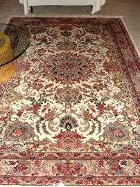 6500.00 Retail hand tied rug! Beautiful!