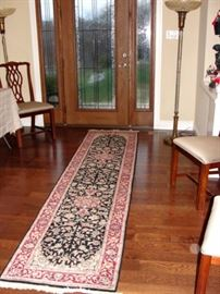 7 Rugs      1~ Antique Needle Point Rug