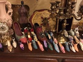 Large Collection of Collectible Shoes