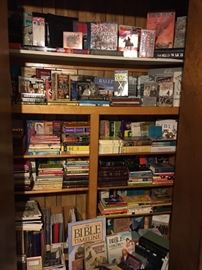 Huge Collection of Civil War Books & Videos and Tons of Religious Literature & Bibles