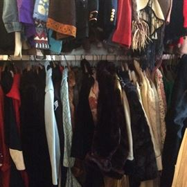 More vintage coats, jackets, sweaters, shawls, capes, ponchos.