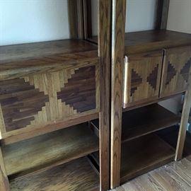 vintage modular shelving