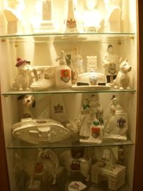 CRESTED WARE BY SHELLEY, FOLEY, MANY OTHERS.