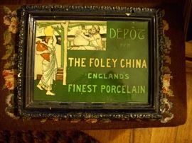 ALL CERAMIC FRAME  AND AD. FOR FOLEY