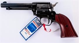 Lot 322 - Gun Heritage Rough Rider in 22 LR/ 22 Mag Revolver