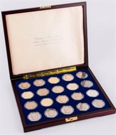 Lot 309 - Coin Complete Set Eisenhower Dollars 1971-78