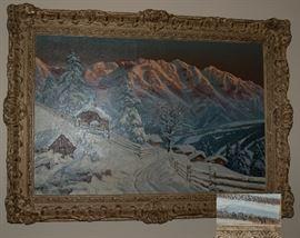 Alois Arnegger Oil Painting
