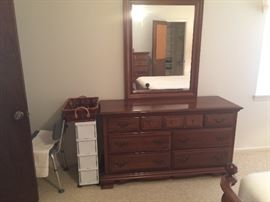 Solid Cherry Dresser w Mirror