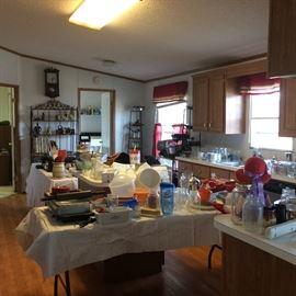 So much kitchen stuff!